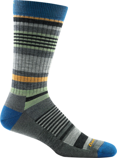 Darn Tough Unstandard Stripe Crew Light Cushion Herrensocken