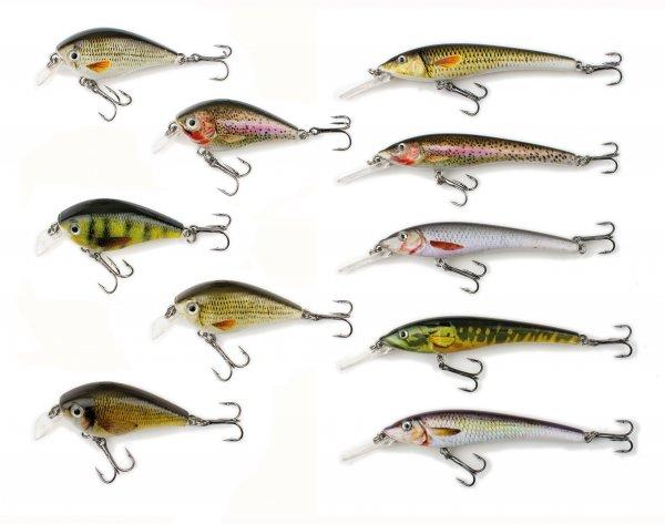 Behr Trendex Natural Mini Wobbler 6,5 cm und 5,5 cm in 5 Farben