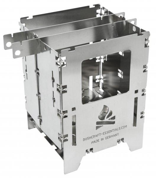 Bushcraft Essentials Bushbox LF Hobo Stove Outdoorkocher