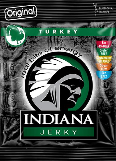 Indiana Natural Jerky - Beef Jerky - Trockenfleisch