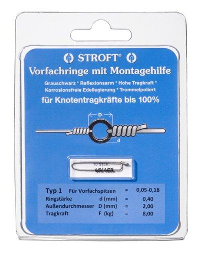 STROFT Vorfachringe mit Montagehilfe