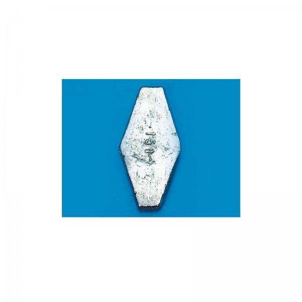 Grundblei sechskant - Gewicht 80 g bis 150 g