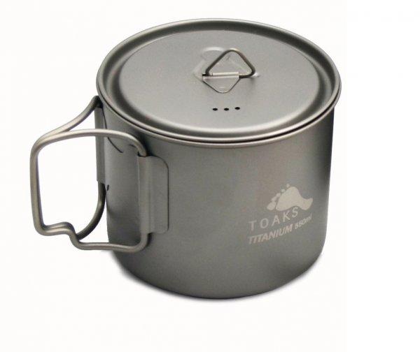 Toaks Light Titanium 550ml Pot – Ultraleichter Topf aus Titan