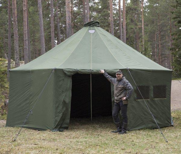 Savotta FDF 20-HQ - палатка на 20 человек - полный комплект