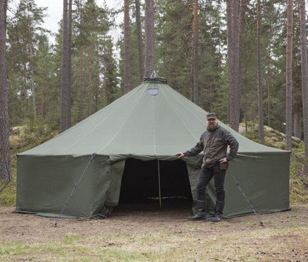 Savotta FDF 20 - палатка на 20 человек - полный комплект