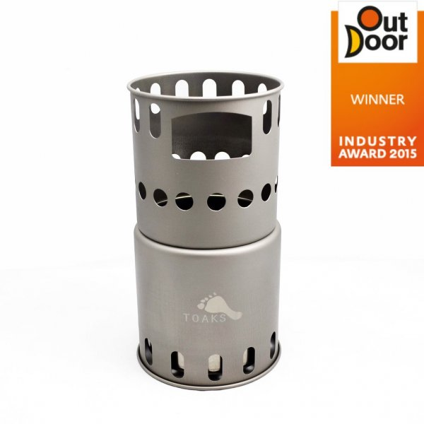 Toaks Titanium Backpacking Wood Burning Stove - Holzvergaser