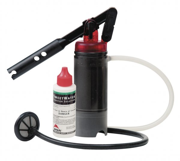 MSR SweetWater Wasserentkeimer-System - Wasserfilter