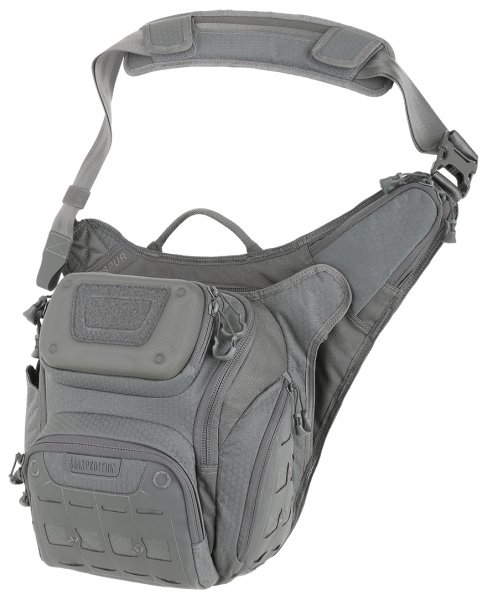 Maxpedition Wolfspur Crossbody Shoulder Bag - Grau