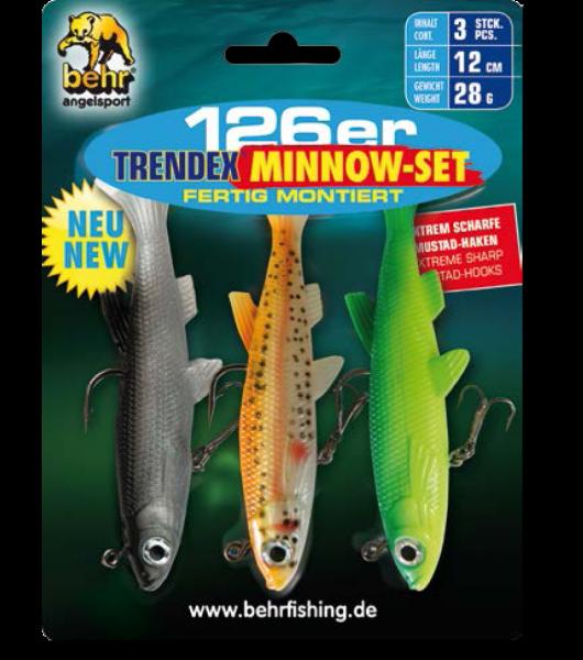 Behr Trendex 126er Minnow 3er Set montiert 12 cm 28 g