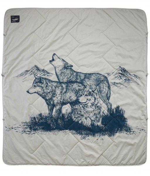 Therm-a-Rest Argo Decke - Wolf Print - Hauptansicht