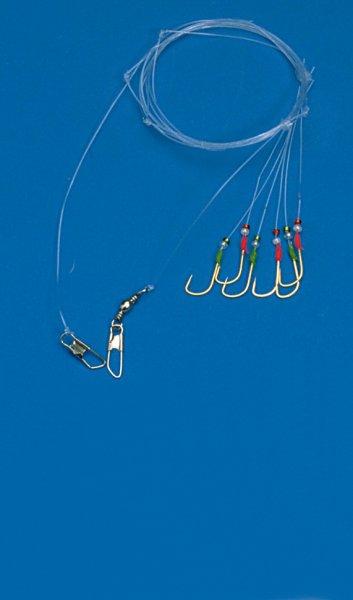 Behr Makrelenpaternoster mit 6 Goldhaken