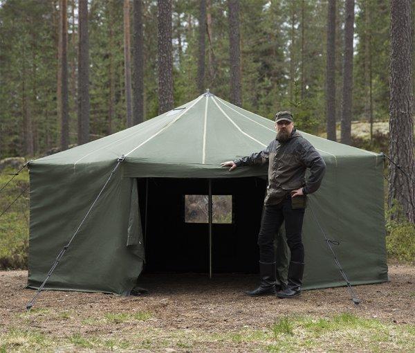 Savotta FDF 10-JSP - палатка на 10 человек - полный комплект